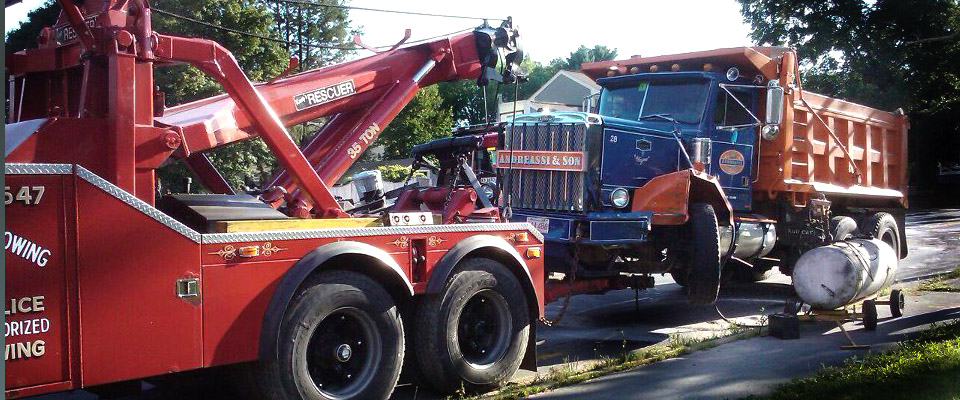 Heavy Duty Towing Services Available